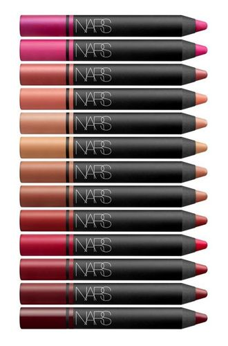 8 New Beauty & Makeup Products for 2013: NARS Cosmetics Satin Lip Pencils from Mecca Cosmetica.
