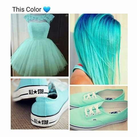 Azzurro/verde acqua