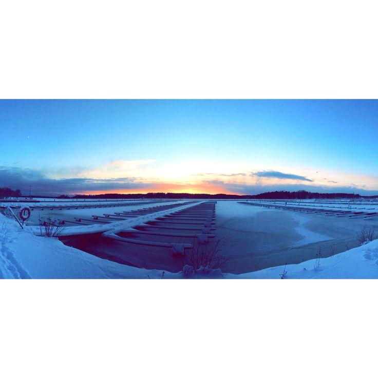 Sunset @ Kivenlahti, Finland