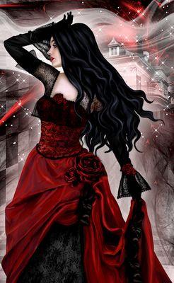 Poemas Ciganos: Dama da noite