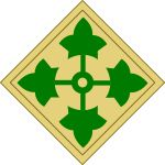 4th Infantry Division insignia
