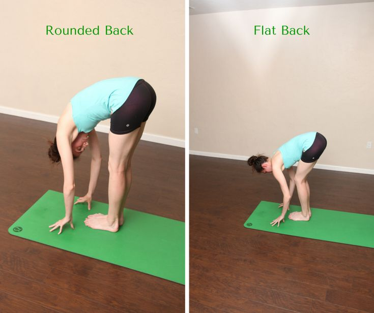 How to protect your hamstrings in a forward fold bright