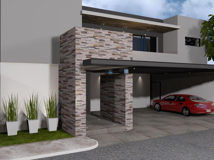 20 best exteriores outdoor spaces images on pinterest for Fachadas exteriores minimalistas