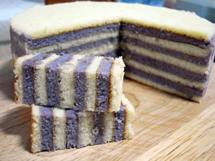 Coconut Layered Cake (Lapis Santan)