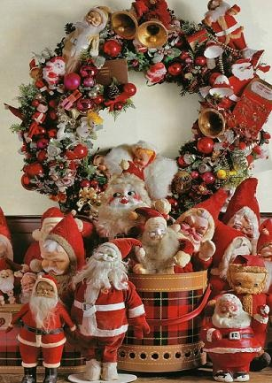 *A new way to do my Santa collection***: Favorite Collections, Santa Clause, Vintage Santa, Santas N, Santa Collector, Santa Collectables, Santa Collections