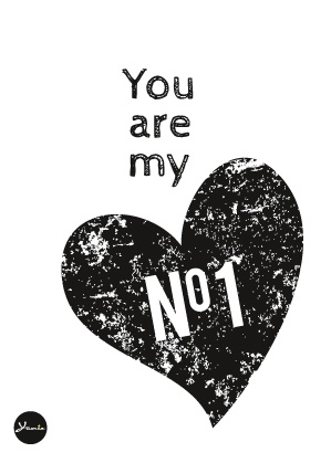 You are my no 1 - from Yumiefamily Blog