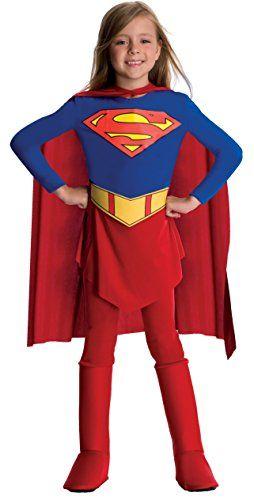 Supergirl™-Kostüm für Mädchen - 8-10 Jahre