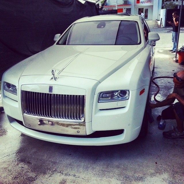 Rolls Royce Ghost Car For Rental In Miami At Cheap Rental