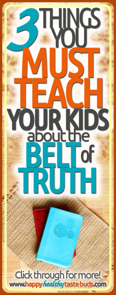 Planning a Bible lesson on the armor of God? Don't miss these 3 things you MUST teach your kids about the belt of truth!