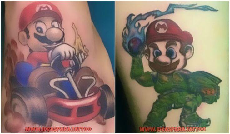 Tatuajes Gamer - Ideas para tatuajes de Hombre