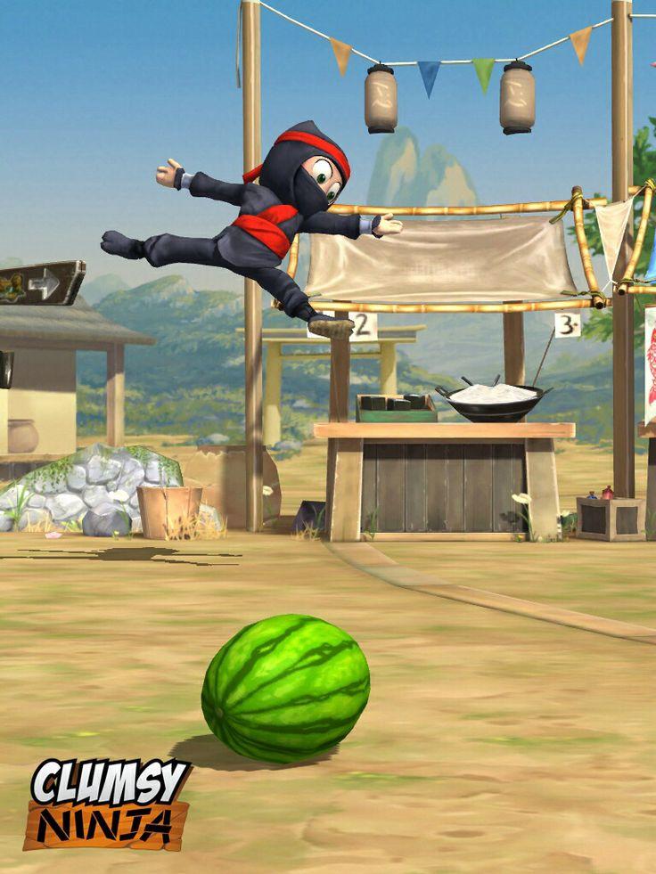 Скачать игру на компьютер clumsy ninja