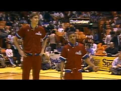 ▶ NB80's: Muggsy Bogues & Manute Bol - YouTube