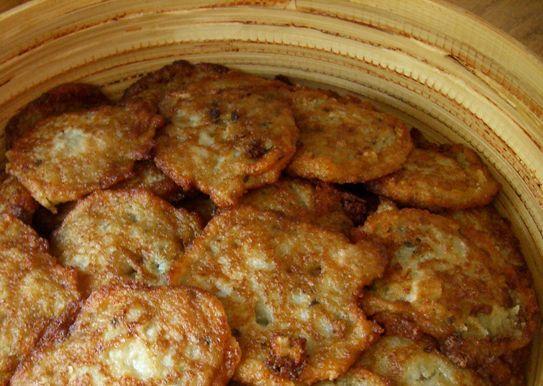 Драники картофельные с мясом