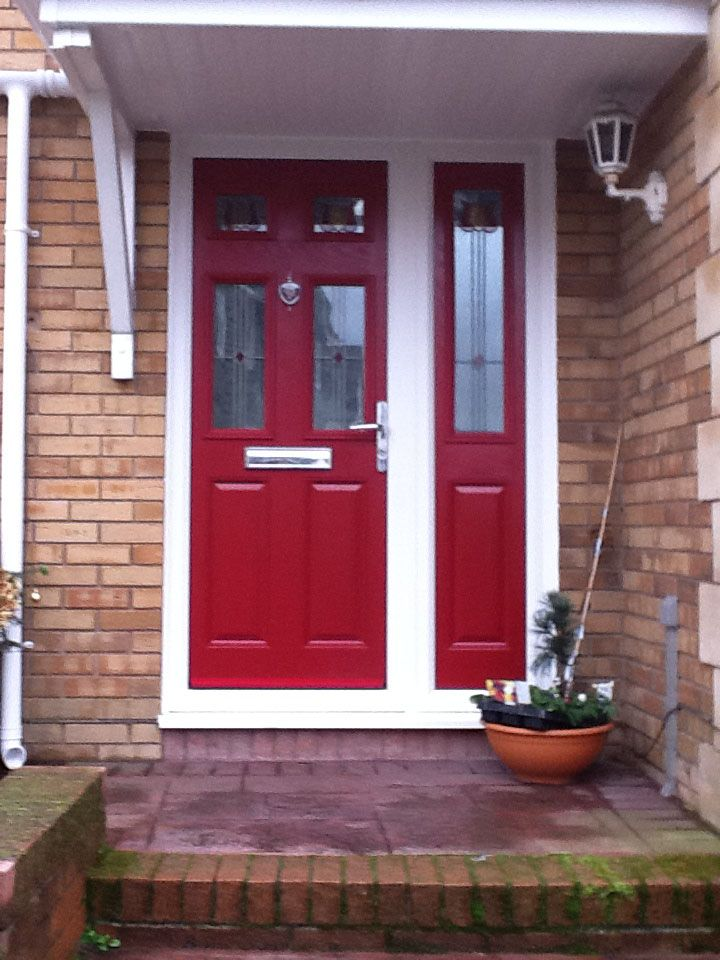 17 best images about composite doors on pinterest shades for Door frame with side window