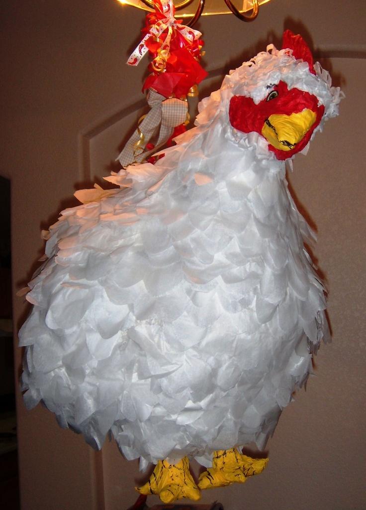 Chicken Pinata.  $30 or make one?