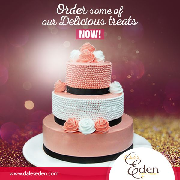 We're sure you know what's good after dinner! it's CAKE! Go to our website and order some of our delicious treats now! #AlwaysCake #DeliciousCake