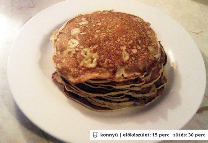 Amerikai palacsinta ElenaGilberttől | NOSALTY – receptek képekkel