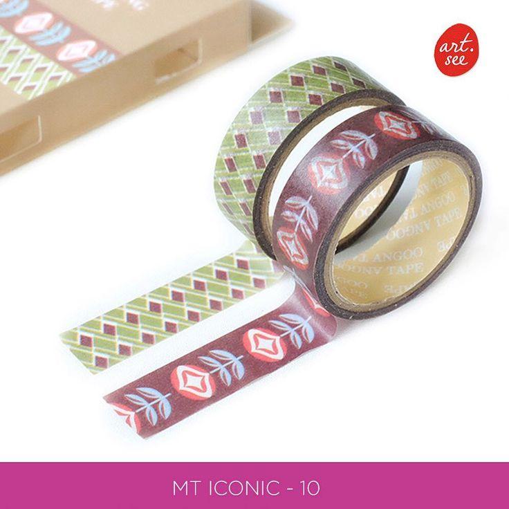 New !!! Masking Tape Iconic  Selotip dekorasi (masking tape) dari kertas washi berhiaskanberbagai macam dekorasi. Pita selotip ini berukuran 1.5 cm.satu kotak berisikan 2 masking tape  Pilih dari 3 varian yang tersedia.  Lebar pita: 1.5 cm. Panjang: 5 meter Bahan: washi paper / kertas washi.  Harga yang tertera adalah harga untuk 2 rol selotip. --------------------------------------------- Harga : 21.000 /2 roll 1 sett (30roll) : 285.000 --------------------------------------------- FORMAT…