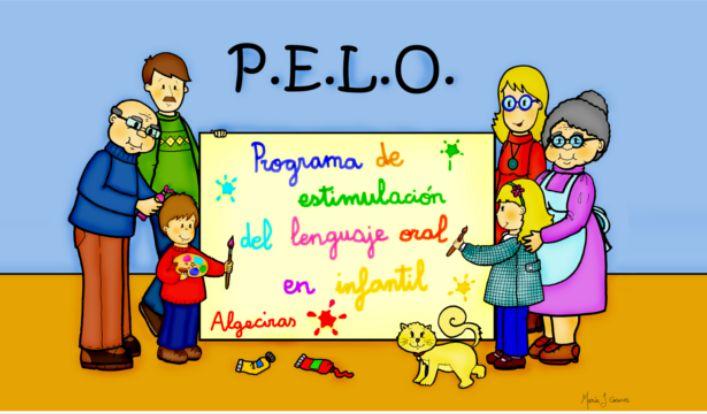 El programaP.E.L.O(programa de estimulación del lenguaje oral) lo ha creado un grupo de maestros de AL de Algeciras. Tiene, entre otras novedades, la disponibilidad de una serie de materiales aud...