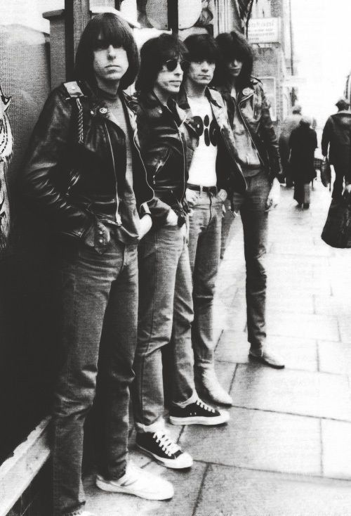 The Ramones...great memories<3 Saw them several times in the '70s, such energy-no stopping between numbers!