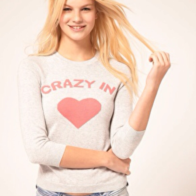 ASOS Crazy In Love jumper.