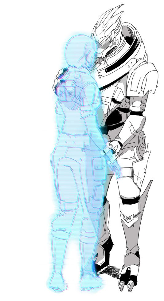 are you still there? by Wei723.deviantart.com #MassEffect