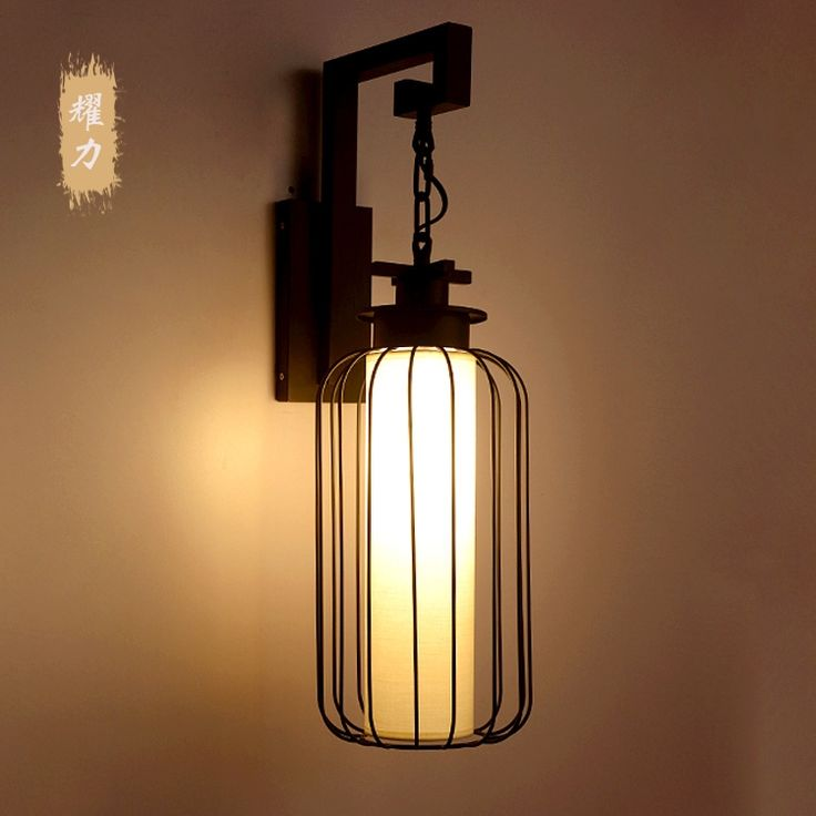 99.75$  Buy here - http://ali09t.shopchina.info/1/go.php?t=32696545942 - New chinese style wall lamp yard wall lamp antique lantern wrought iron lighting lamps 99.75$ #SHOPPING