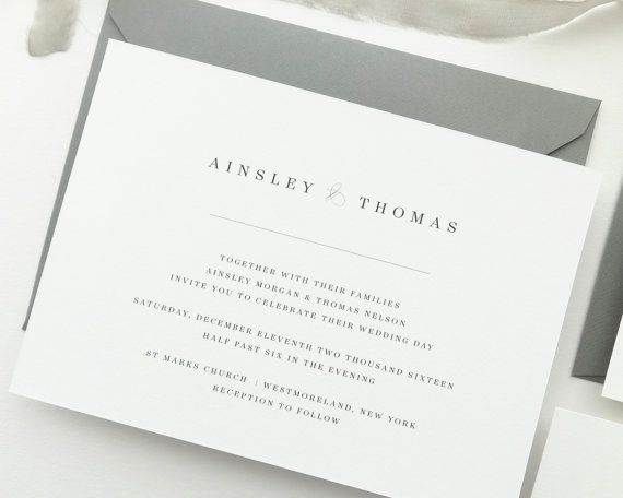 326 best Wedding Invitations images on Pinterest