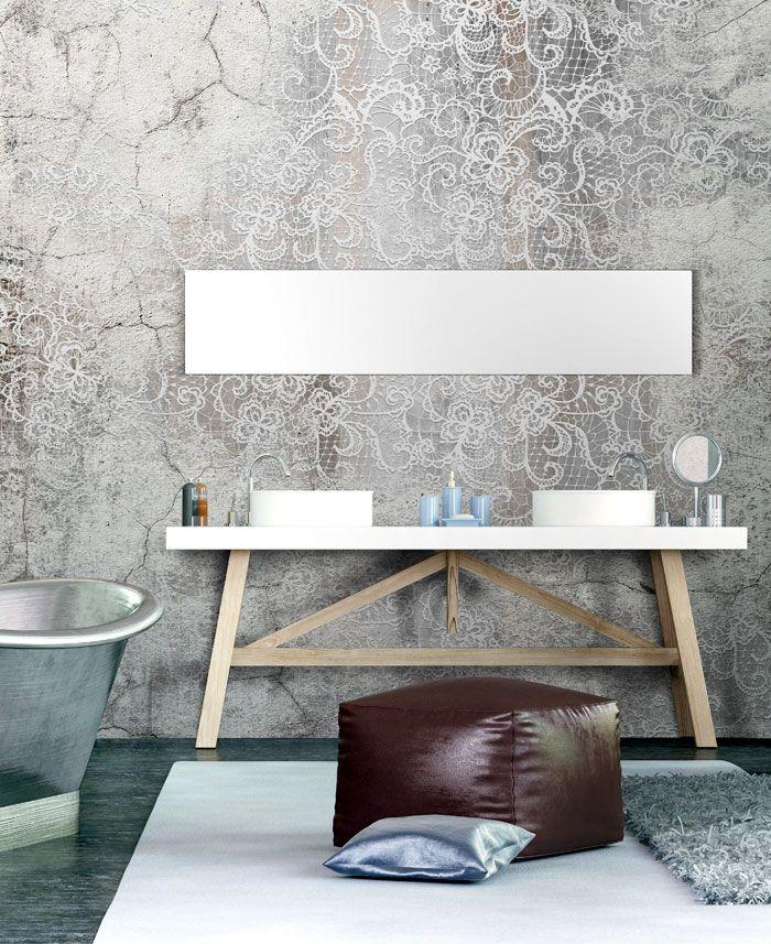 Wall Covering Suitable To Bathrooms Bathroom Wallpaper Decor Home Decor
