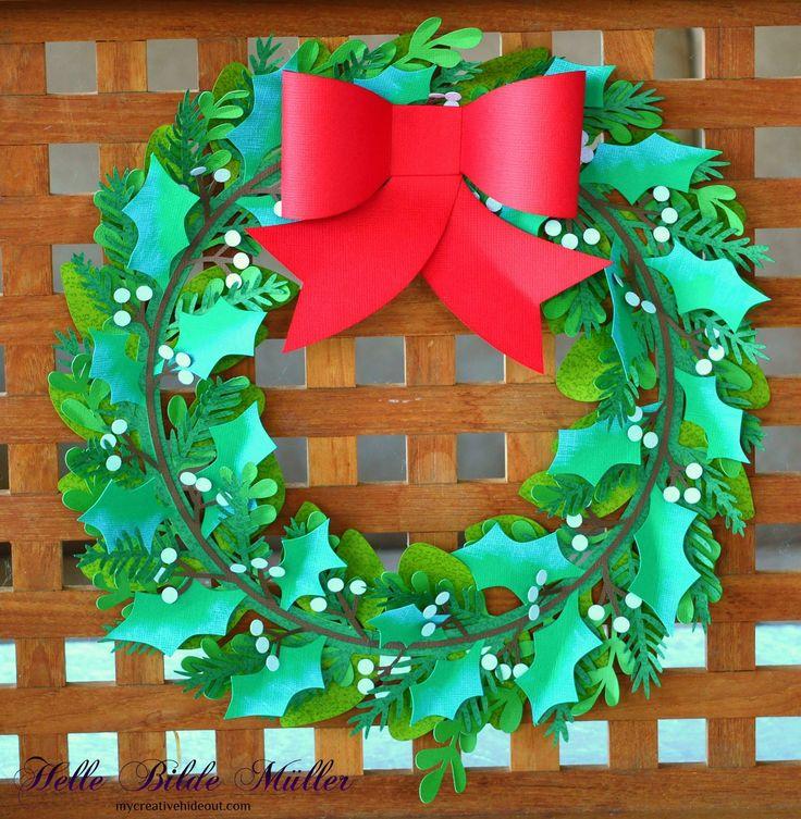 Christmas Wreath designed by #amandamcgeedesignd