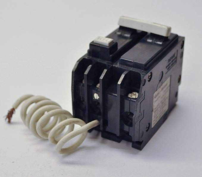 Cutler Hammer Gfcb220 20 Amp 2 Pole Gfci Circuit Breaker Plug In