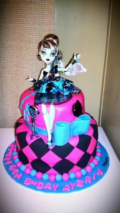 Monster High Birthday Cake Cakes By Roslyn B Monster