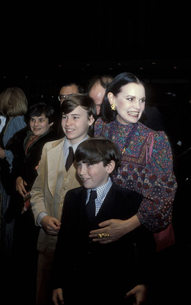 Gallery Event at Museum of Modern Art - January 1, 1972 Carter Cooper, Anderson Cooper and Gloria Vanderbilt (Photo by Ron Galella/WireImage)