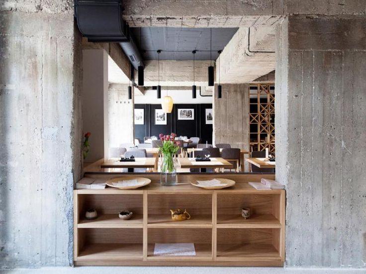 Restaurace Jasmín, Vallo Sadovsky Architects, Foto: © Nicole Lieskovská