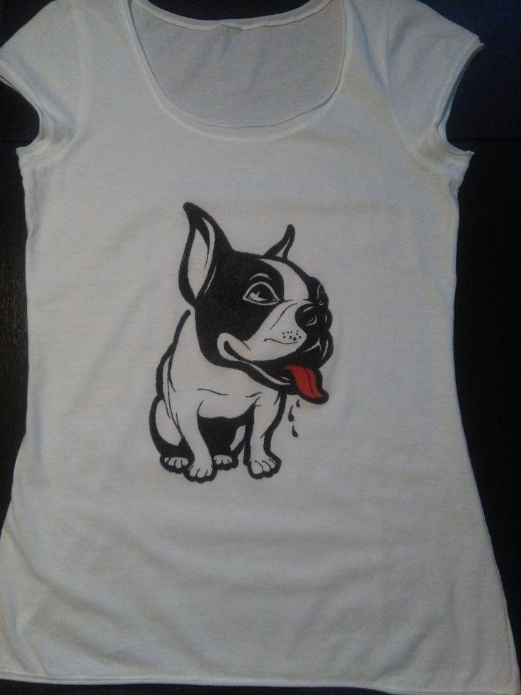T-shirt french bulldog