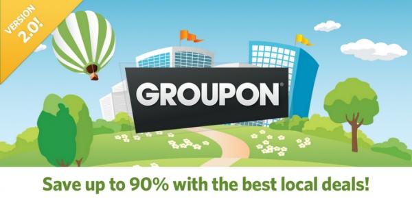 Nuova versione dell'app Groupon per iOS