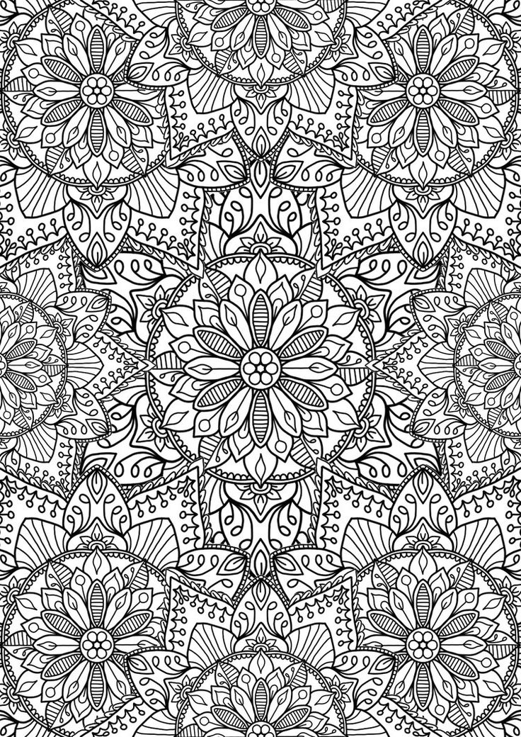 coloring page flower adult coloring pagescoloring bookspattern
