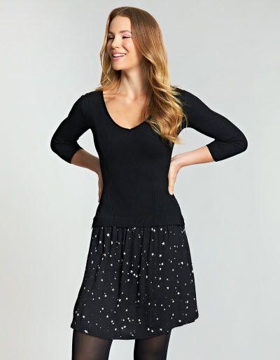 Layered Printed Tunic Dress £59