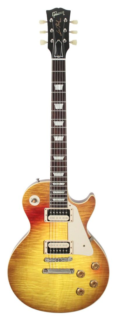 "gibson custom shop collectors choice #16 ed king 1959 les paul ""redeye"" kingburst"