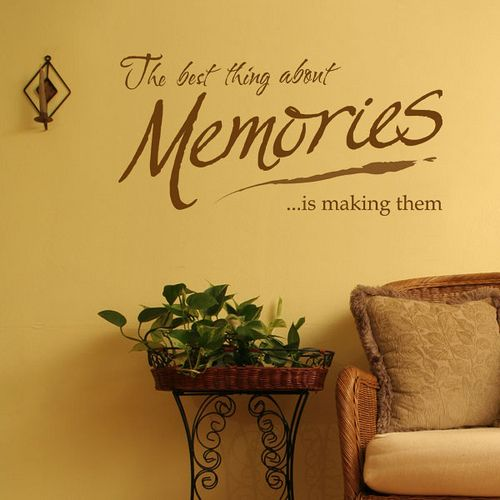 12 best memory wall ideas images on Pinterest | Homes, Vinyl wall ...
