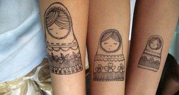 Inspirações de tatuagem de mãe e filha - Guia da Semana