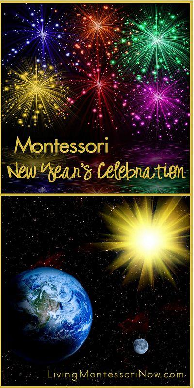 montessori new years celebration living montessori now posts pinterest montessori activities and montessori classroom