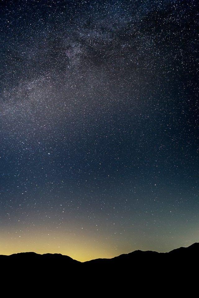 Stars shine bright in Borrego Springs, CA.