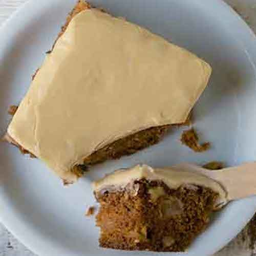 Old Fashioned Apple Cake With Brown Sugar Frosting Recipe Apple