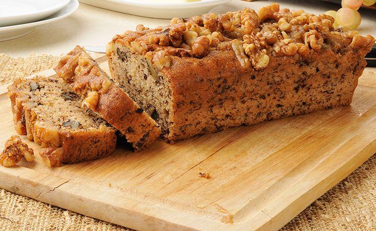 Gesundes Brot Rezept aus Walnüssen und Leinsamen selbermachen. So einfach machst du dein eigenes Lieblingsbrot selbst. Garantiert vegan und glutenfrei.