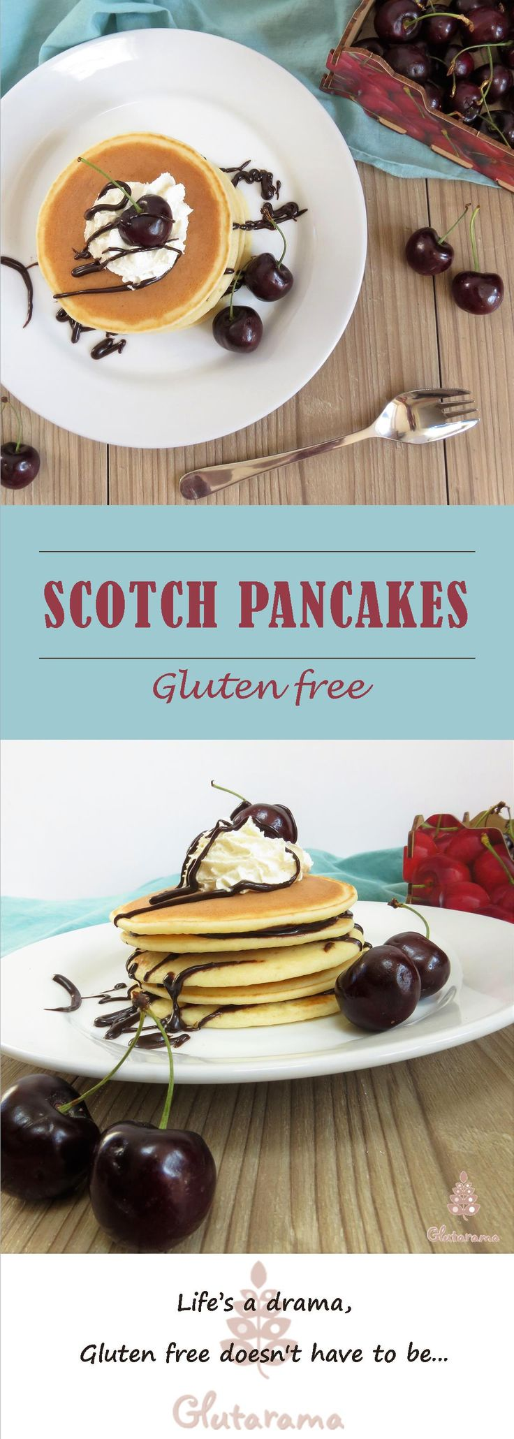 Scotch Pancakes; gluten free and easily made dairy free too