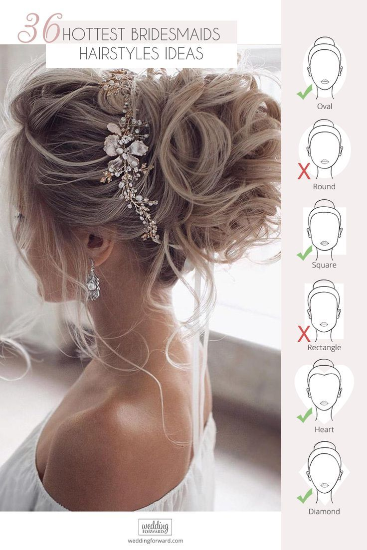 36 Hottest Bridesmaids Hairstyles For Short & Long Hair ❤ Are you looking for some hottest bridesmaids hairstyles ideas? We have several of the most stunning and sexy hairstyles for bridesmaids in our gallery! #wedding #weddinghairstyles #bridalhairdo #hottestbridesmaidshairstylesideas