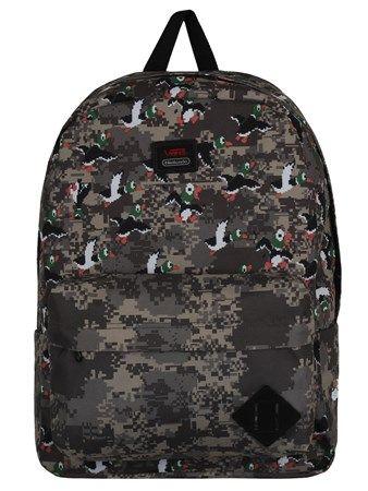 Nintendo Duck Hunt Old Skool II Vans Backpack | UK Store | Oneposter.com