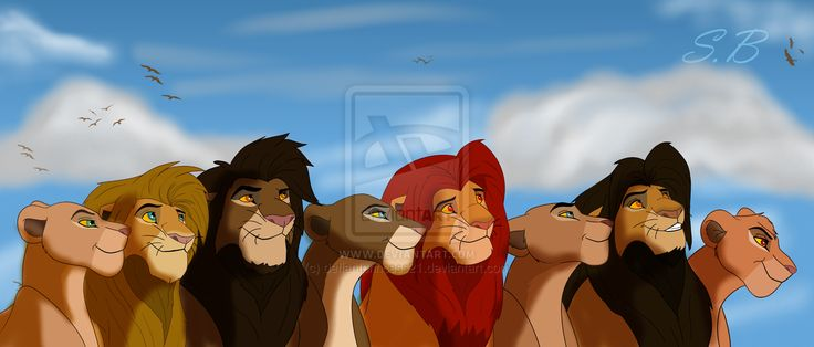 Tama and Malka, Nala and Simba, Kula and Chumvi, and Mheetu with Korra.