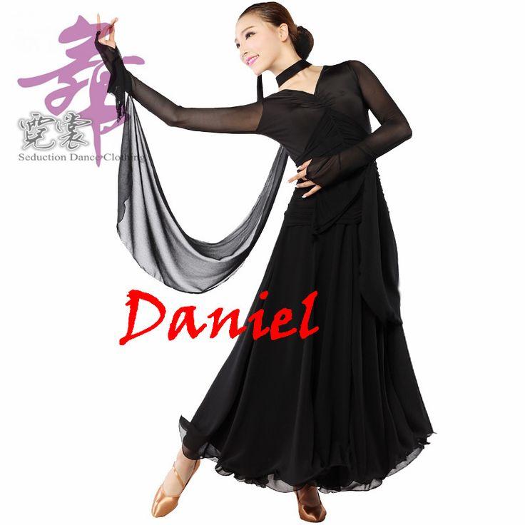 Abito da ballo per danze standard curve